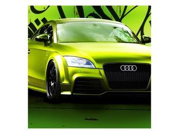 Obraz zelené Audi  (F003676F7070)