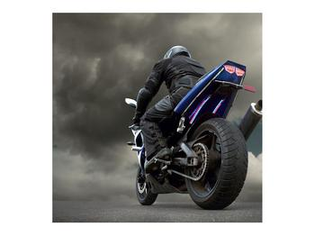 Tablou cu motociclist cu motocicletă (K011302K7070)