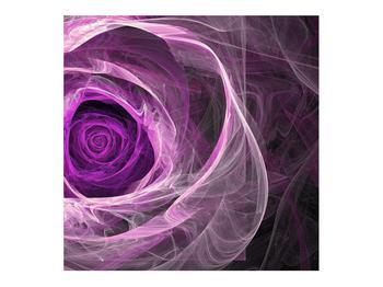 Moderný obraz fialovej ruže (K011482K7070)