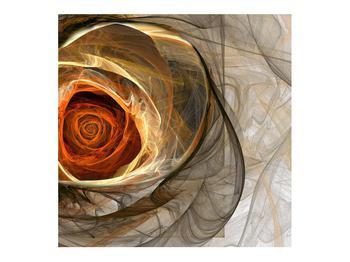 Tablou modern cu trandafir (K011863K7070)