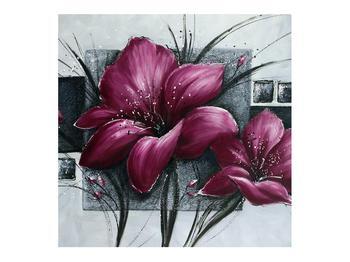 Tablou modern cu flori (K012355K7070)