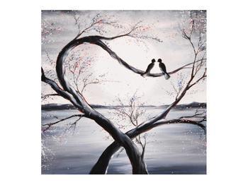Tablou cu păsări îndrăgostite (K012516K7070)
