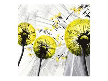 Tablou galben cu păpădii (K014028K7070)