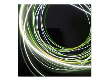 Obraz zelených čiar (V020054V7070)