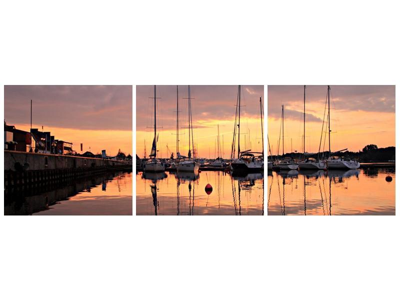 Obraz přístavu (F001605F9030)