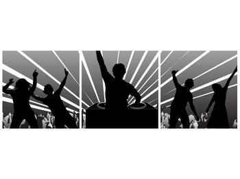 Moderní obraz - DJ (F000045F9030)
