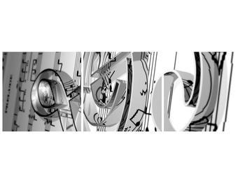 Obraz houslového klíče  (F000071F9030)
