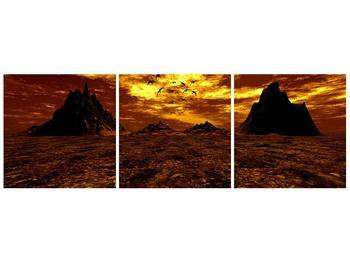Obraz vyprahlého údolí (F000287F9030)