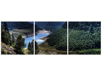 Obraz řeky a hor (F000615F9030)