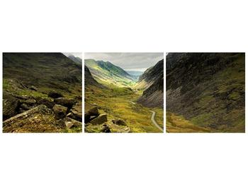 Obraz cesty uprostřed hor (F000621F9030)