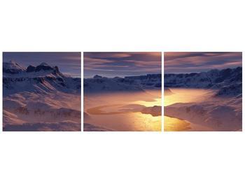 Krásný obraz zimní krajiny (F000939F9030)