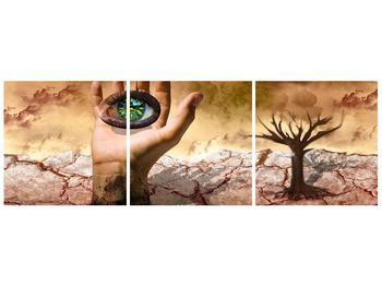 Obraz oka na dlaňi (F001485F9030)