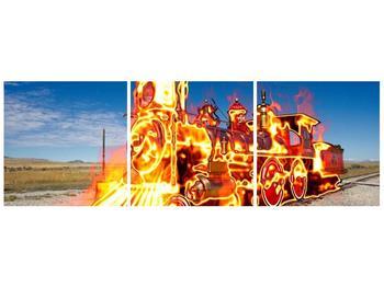 Obraz ohnivé lokomotivy (F001696F9030)