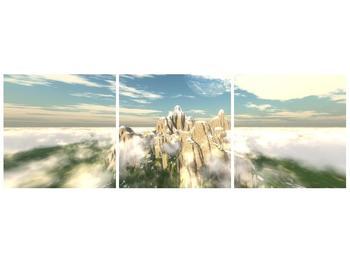 Obraz zasněžených vrcholů skal (F001715F9030)