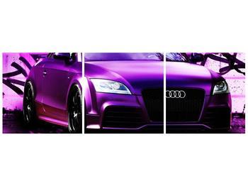 Obraz fialové Audi (F002349F9030)