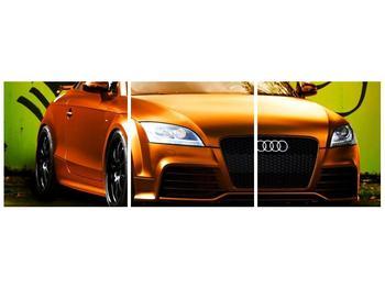 Obraz oranžové Audi (F002351F9030)