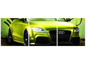 Obraz zelené Audi  (F003676F9030)