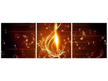 Moderní obraz houslového klíče a not (F004285F9030)