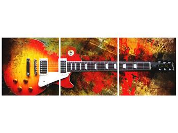 Moderní obraz kytary  (F004286F9030)