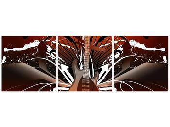 Moderní obraz baskytary  (F004289F9030)