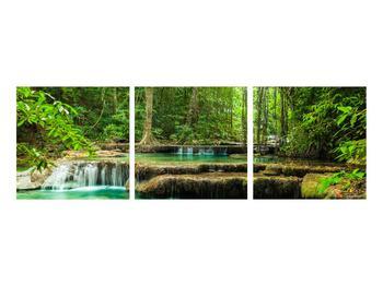 Obraz průzračného lesního toku (K011187K9030)