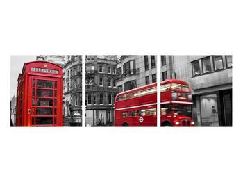 Obraz londýnské telefonní budky (K011222K9030)