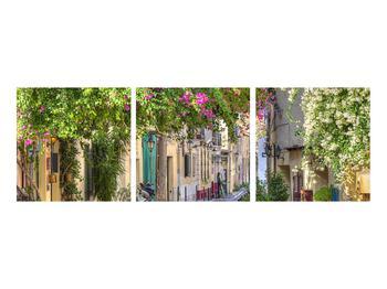 Obraz středomořské letní uličky (K011282K9030)