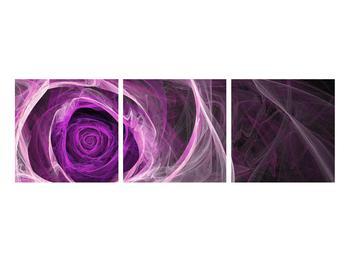 Moderný obraz fialovej ruže (K011482K9030)
