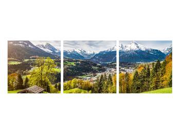 Tablou cu peisaj montan (K011867K9030)