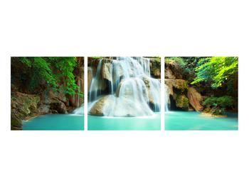 Obraz řeky s vodopády (K011969K9030)
