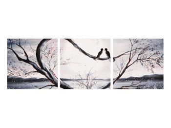 Tablou cu păsări îndrăgostite (K012516K9030)