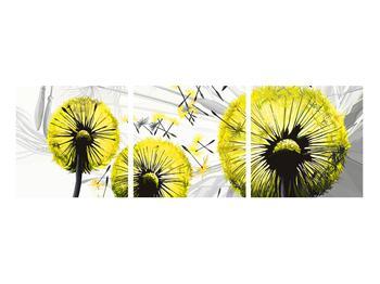 Tablou galben cu păpădii (K014028K9030)