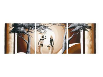 Tablou oriental cu două femei și copac (K014682K9030)