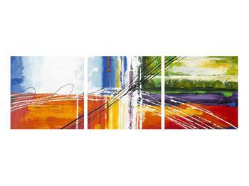 Abstraktní obraz - malba (K014706K9030)
