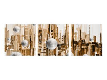 Abstraktní obraz - město (K014743K9030)