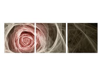 Abstraktní obraz růže (K014988K9030)