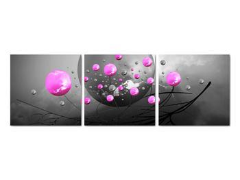 Obraz ružových gulí (V020105V9030)