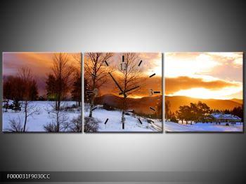 Obraz zimní krajiny (F000031F9030CC)