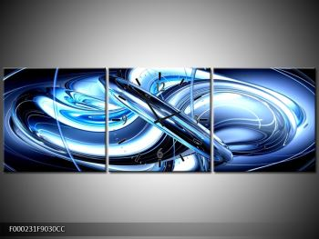 Obraz s hodinami F000231F9030CC (F000231F9030CC)