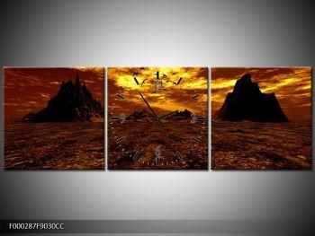 Obraz vyprahlého údolí (F000287F9030CC)