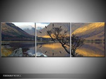 Obraz hor u jezera (F000686F9030CC)