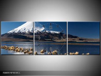 Obraz zasněžené hory (F000974F9030CC)