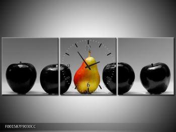 Obraz dvou jablek a hrušky (F001587F9030CC)