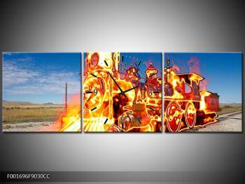 Obraz ohnivé lokomotivy (F001696F9030CC)