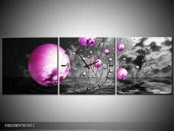 Moderní obraz - slunce v kouli (F002085F9030CC)