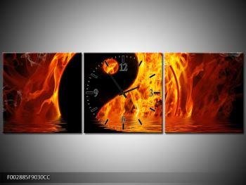 Obraz hořícího Jin Jangu  (F002885F9030CC)