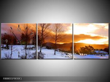 Obraz zimní krajiny (F000031F9030CL)