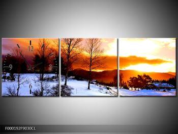 Obraz zimní krajiny (F000192F9030CL)