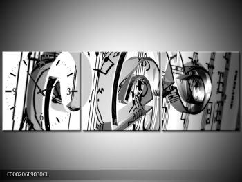 Moderní obraz houslového klíče (F000206F9030CL)