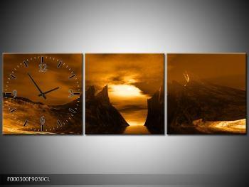 Obraz skály a pláže (F000300F9030CL)